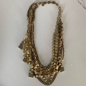 Stella & Dot Gold Sutton necklace